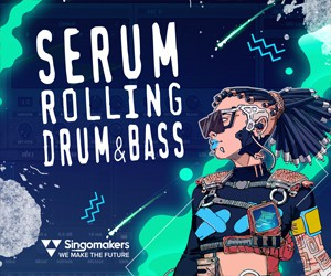 Loopmasters singomakers serum rolling drum bass 300 250