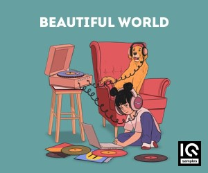 Loopmasters iq samples   beautiful world   cover   300x250