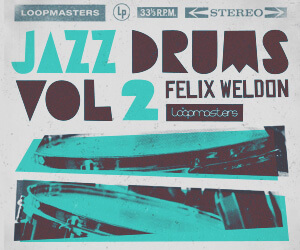 Loopmasters lm felix weldone jazz drums vol 2 300 x 250