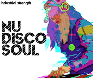 Loopmasters 5 nudiscosoul wav  midi  production kits  disco  soul  funk  retro  guitars  bass  drums  piano and synths 300 x 250