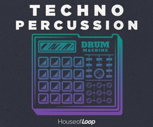 Loopmasters techno percussion 300x250