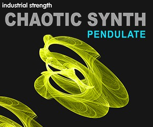 Loopmasters 5 newfangled audio eventide pendulate chaotic synth bass leads fx pads ebm techno industrial 300 x 250