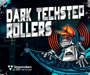 Loopmasters singomakers dark techstep rollers 300 250