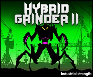 Loopmasters 5 hybrid grinder 2.0 industrial  drum n bass hardcore sound design fx drums sounds 300 x 250