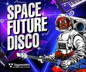 Loopmasters singomakers space future disco 300 250