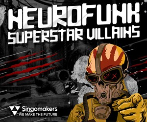 Loopmasters singomakers neurofunk superstar villains 300 250