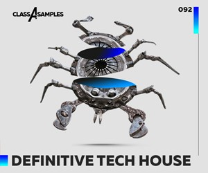 Loopmasters class a samples definitive tech house 300 250
