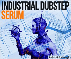 Loopmasters 5 industrial dubstep serum presets soundset bass leads 300 x 250 2