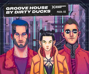 Loopmasters groove house by dirty duck  cover 300x250