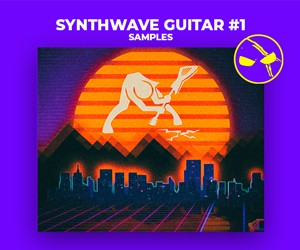 Loopmasters dabromusic synthwave guitar samples 300x250