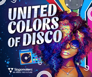 Loopmasters singomakers united colors of disco 300 250