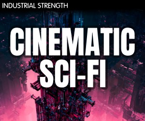 Loopmasters 4 sci fi cinematic aliens textures impacts foley synths lasers sfx sound design 300x250