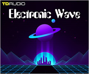 Loopmasters 75 electronic wave synth wave 80s techno pop drums midibass spireproduction kits 300 x 250