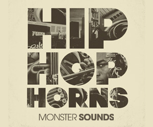 Loopmasters monster sounds hip hop horns 300x250