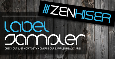Zenhiser label sampler dubstep sample cd trance synth for Zenhiser classic house drum sounds