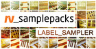 RV Samplepacks Label Sampler