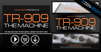 Vintage drum samples tr 909 the machine tr 909 drum for Classic italo house zenhiser