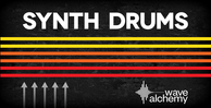 Synth drums banner web