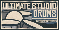 Studio drum samples  ultimate drums   studio edition  acoustic drum loops  funky drum sounds  frontline