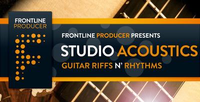 Studio Acoustics - Guitar Riffs N' Rhythms