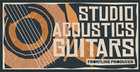 Studio Acoustics - Guitars