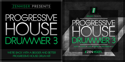 Progressive house samples progressive house drummer 3 for Zenhiser classic house drum sounds