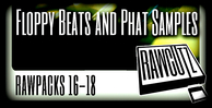 Rawpacks 16 18 floppy beats and phat samples banner