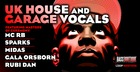 UK House & Garage Vocals