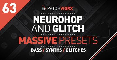 NeuroHop & Glitch Massive Presets