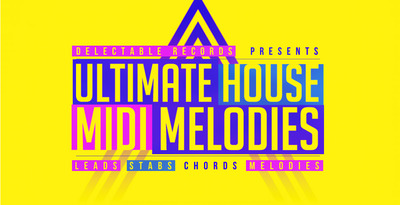 Ultimate house midi melodies 512