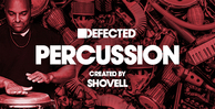 Defected percussion samples by shovell banner