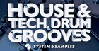 House & Tech Drum Grooves