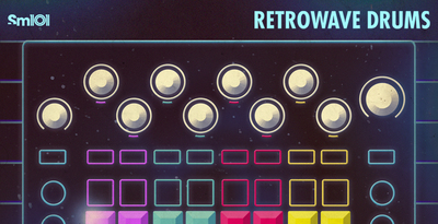 Sm101   retrowave drums   banner 1000x512   out