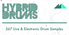 Hybrid Drums - Live & Electronic Drum Samples