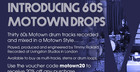 60's Motown Drops - Free Drum Track