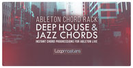 Ableton chord rack   deep house   jazz chords banner