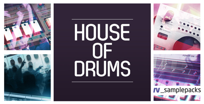 Rv house of drums tops and percussion loops