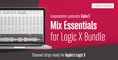 Apple logic templates  logic   mix essential channel strips  logic x channel strips  mix essentials for logic x bundle  loopmasters rectangle