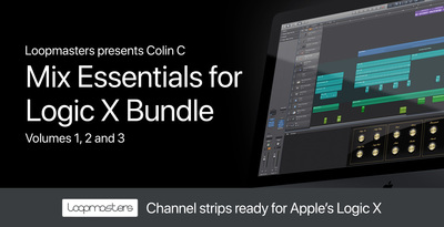Mix essentials for logic x bundle channel strips fx processing
