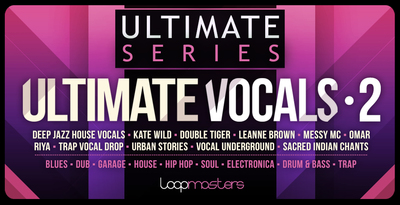 Ultimate vocals 2 trap and hip hop vocals samples