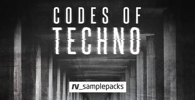 Codes of techno tops and percussion sounds  techno synth loops