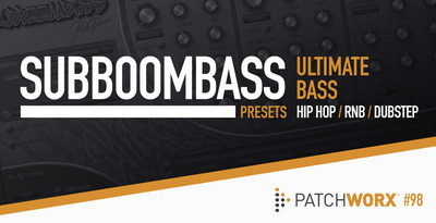 Ultimate bass %e2%80%93 subboombass synth presets