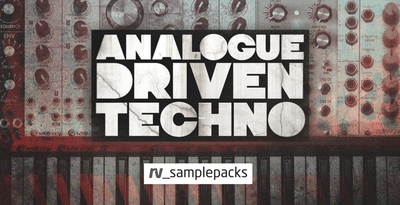 Analogue driven techno samples  chgords and perc loops