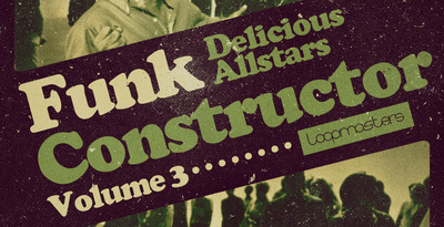 Delicious allstars funk constructor   vol 3 electric bass loops  funk guitars and classic rhodes sounds  rectangle