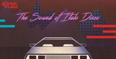 Sm white label   the sound of italo disco   banner 1000x512   out