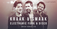 Kraak   smaak  royalty free funk samples  electronic disco drum and synth loops  1000 x 512