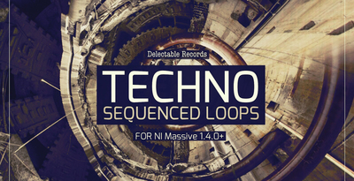 Techno Sequenced Loops For Massive