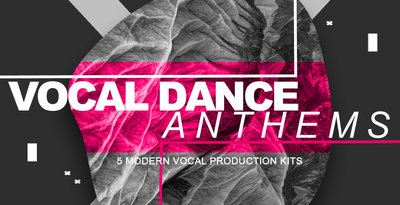 Vocal dance anthems 1000x512