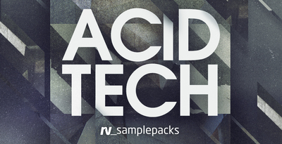 Royalty free tech house samples  acid house synth and bass loops  fx   punchy drum sounds  1000 x 512