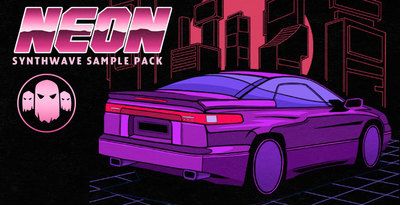 Gs neon synthwave banner 1000x512 web